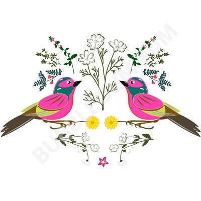 Decoupage Artisan Print - Little Birdie