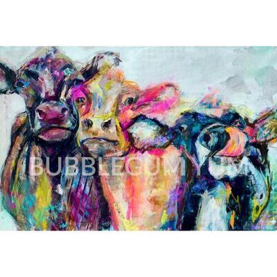 Decoupage Artisan Print - You're a Cow