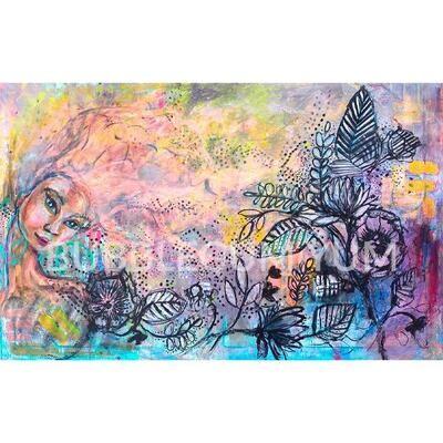 Decoupage Artisan Print - Whimsical