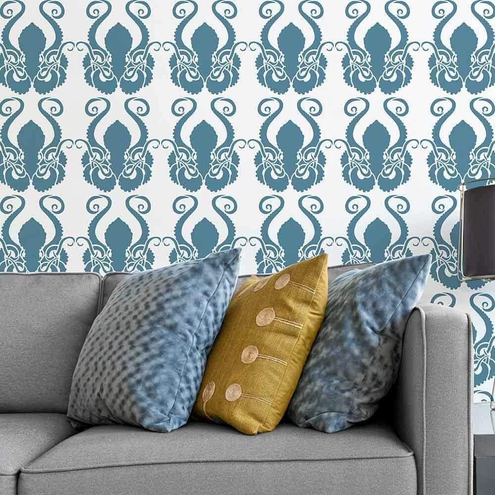 Octopus Allover Stencil