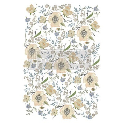 Décor Transfer - Goldenrod Florals