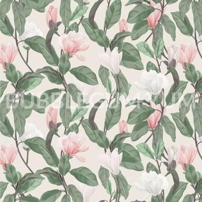 Decoupage Artisan Print - Magnolia Blossom