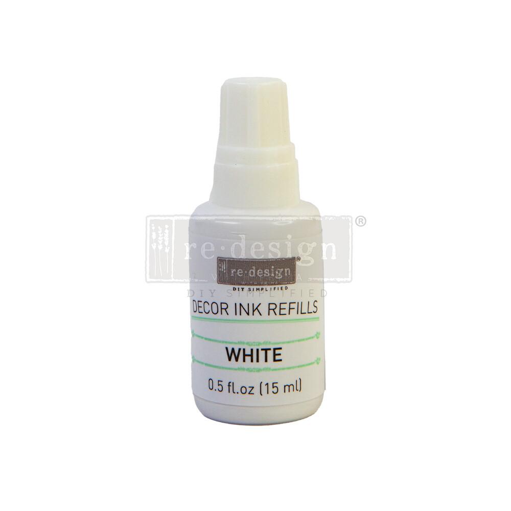 Decor Ink Refill - White