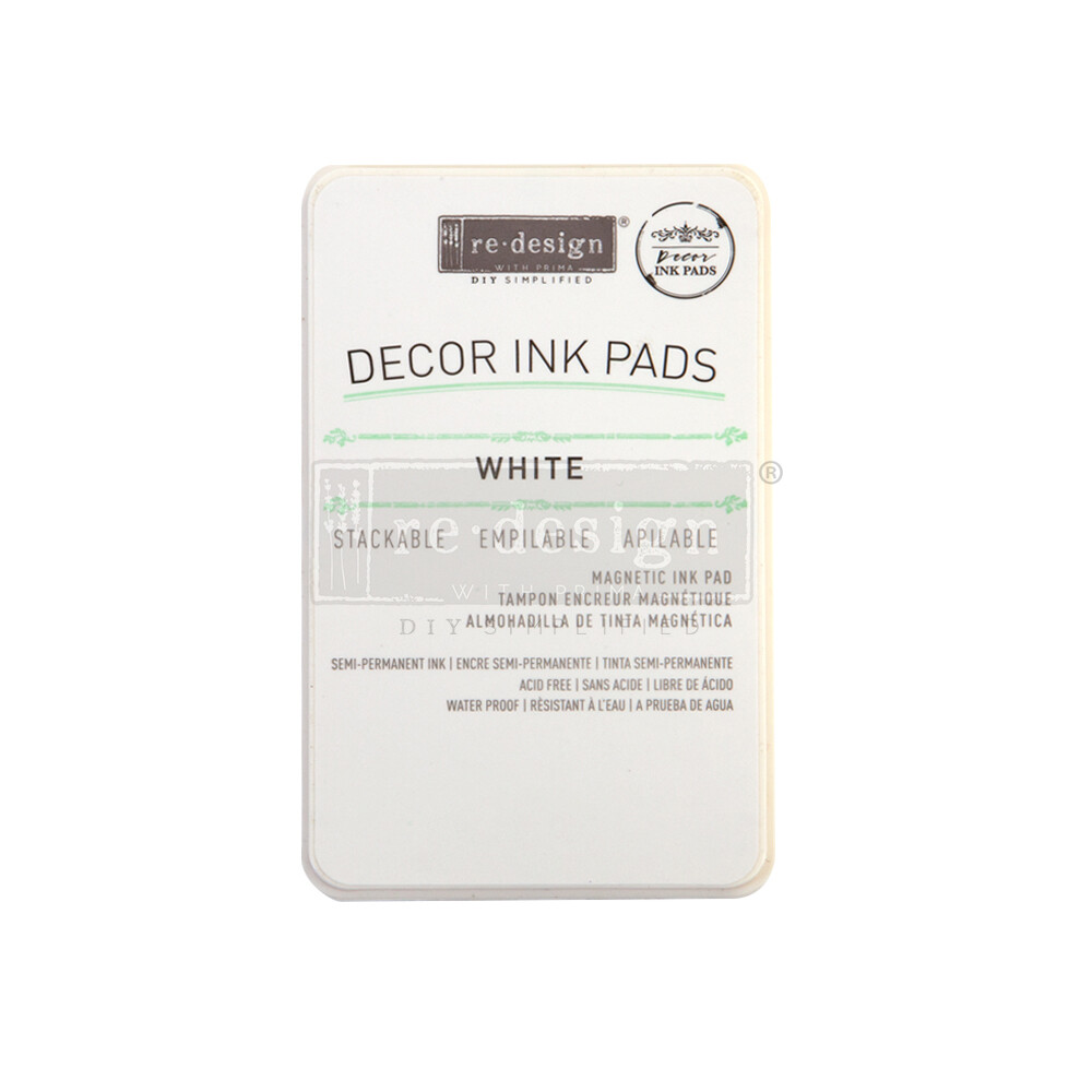 Decor Ink Pad - White