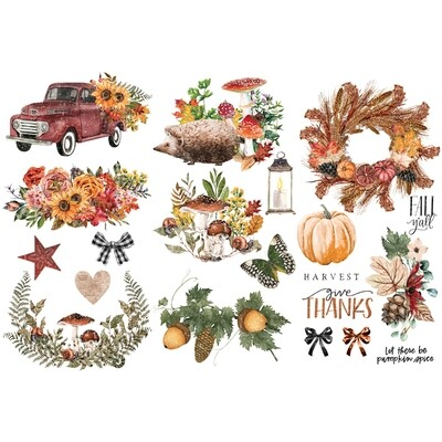 Small Decor Transfer - Autumn Essentials