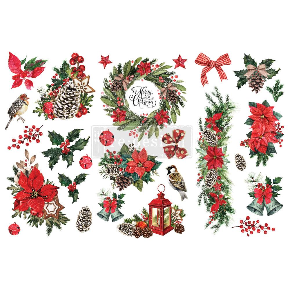 Small Decor Transfer - Classic Christmas