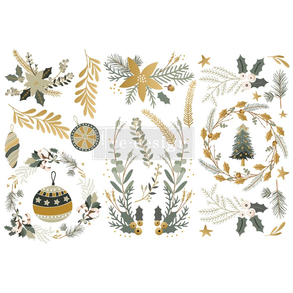 Small Decor Transfer - Holiday Spirit