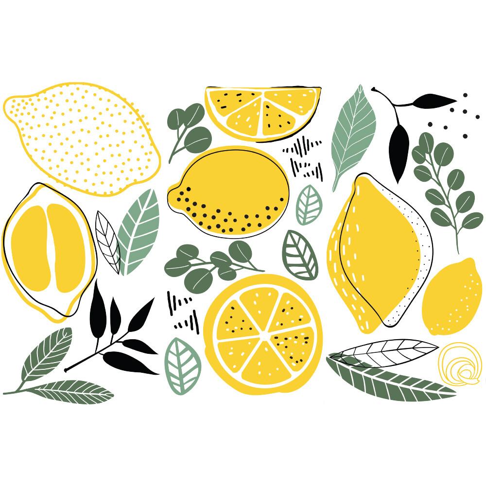 Small Decor Transfer - Lemon