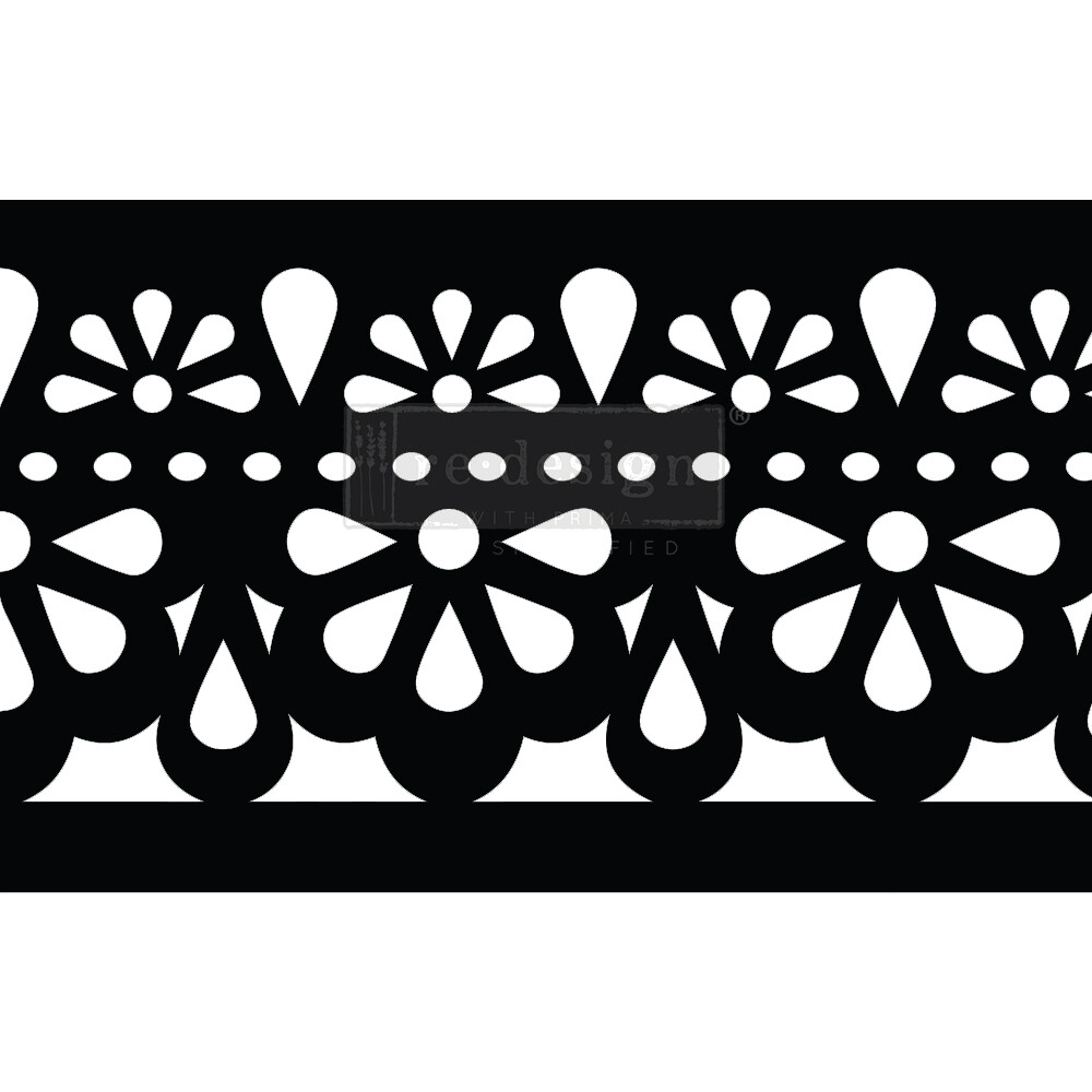 Stick and Style Stencil: Classic Lace
