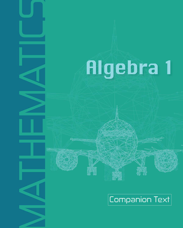 Algebra 1 - Companion Text
