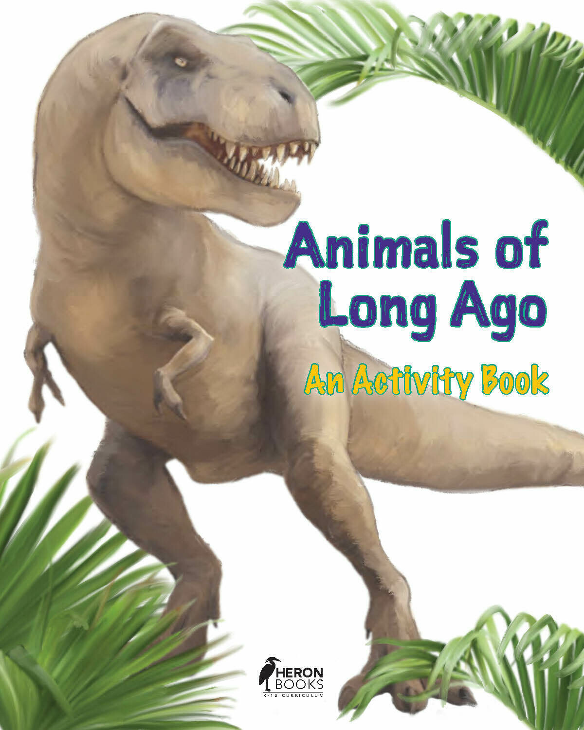Animals of Long Ago An Activity Book - Free Download!