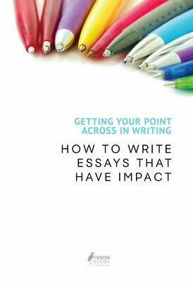 Getting Your Point Across In Writing - How to Write Essays that Have Impact