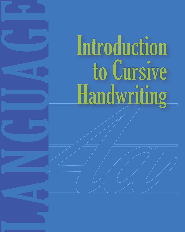 Introduction to Cursive Handwriting