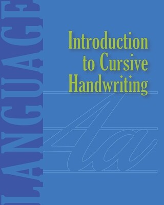 Introduction to Cursive Handwriting