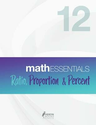 Math Essentials 12 – Ratio, Proportion and Percent