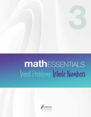 Math Essentials 3 - Word Problems, Whole Numbers