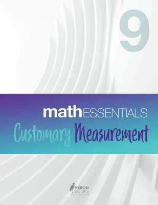 Math Essentials 9 – Customary Measurement