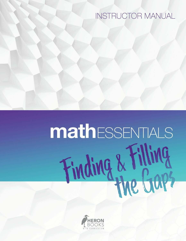 Math Essentials - Instructor Manual