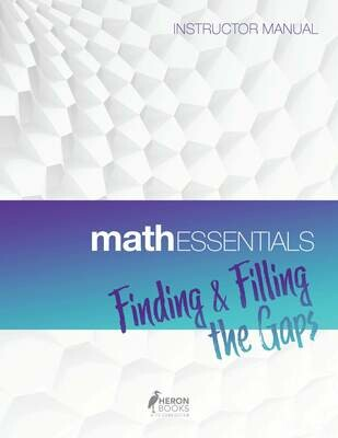 Math Essentials - Instructor Manual