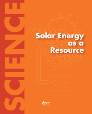Solar Energy as a Resource