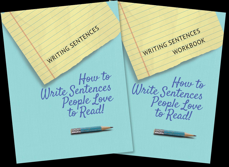 Writing Sentences Book and Workbook