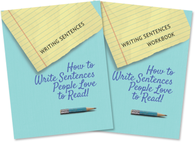 Writing Sentences - Book and Workbook