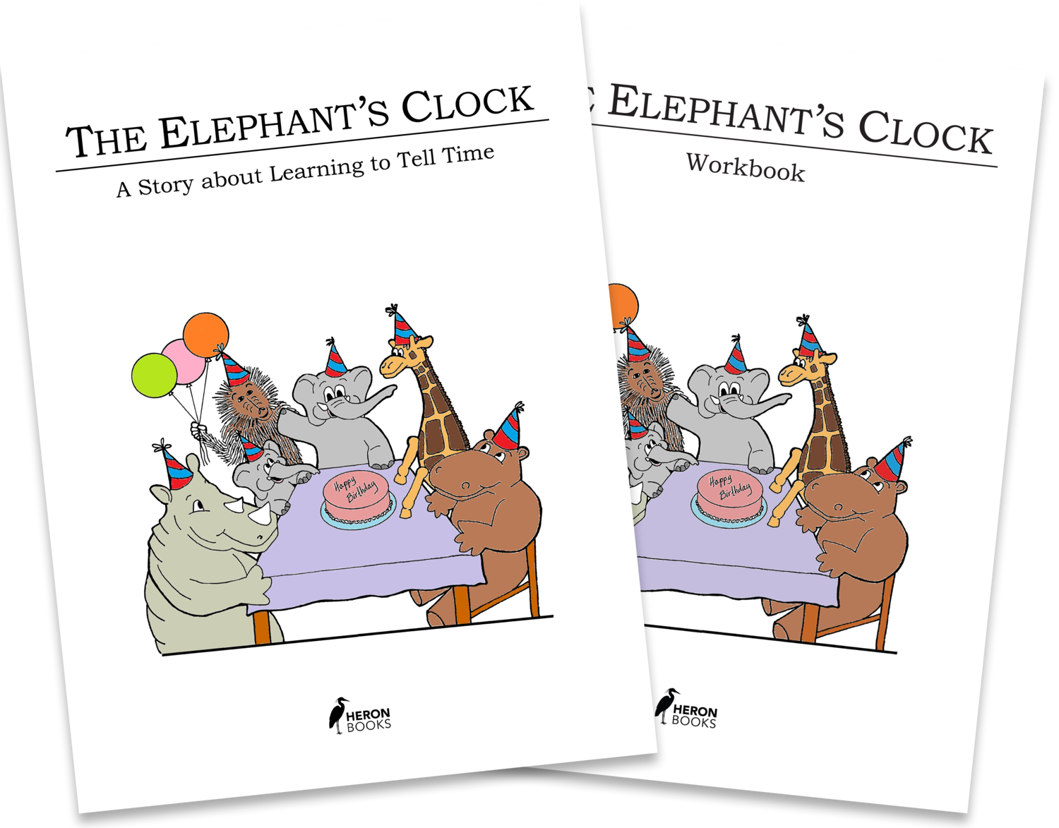 Elephant's Clock Book and Workbook - Download Version