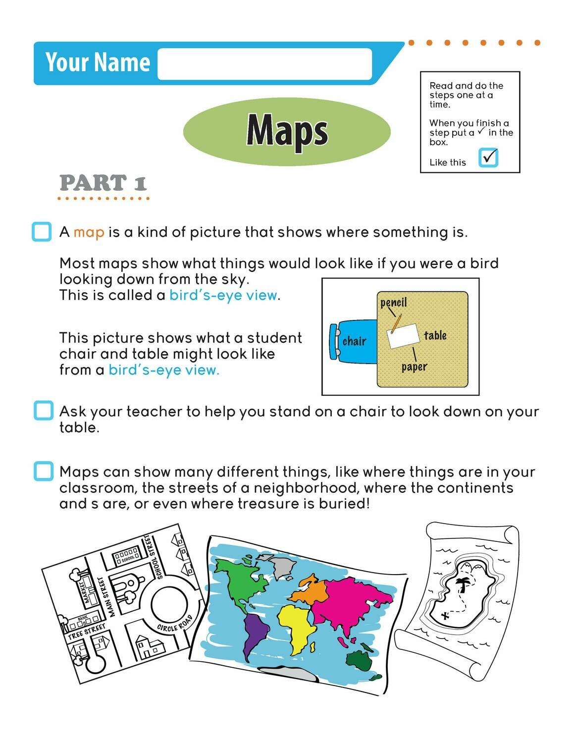 Independent Learning Activity - Maps