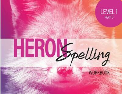 Heron Spelling Level 1D Workbook