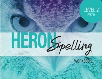 Heron Spelling Level 2D Workbook