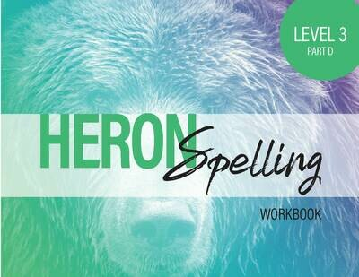 Heron Spelling Level 3D Workbook