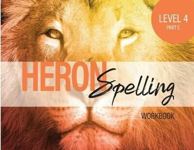 Heron Spelling Level 4C Workbook