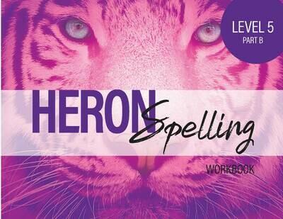 Heron Spelling Level 5B Workbook