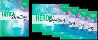 Heron Spelling Level 3 Package
