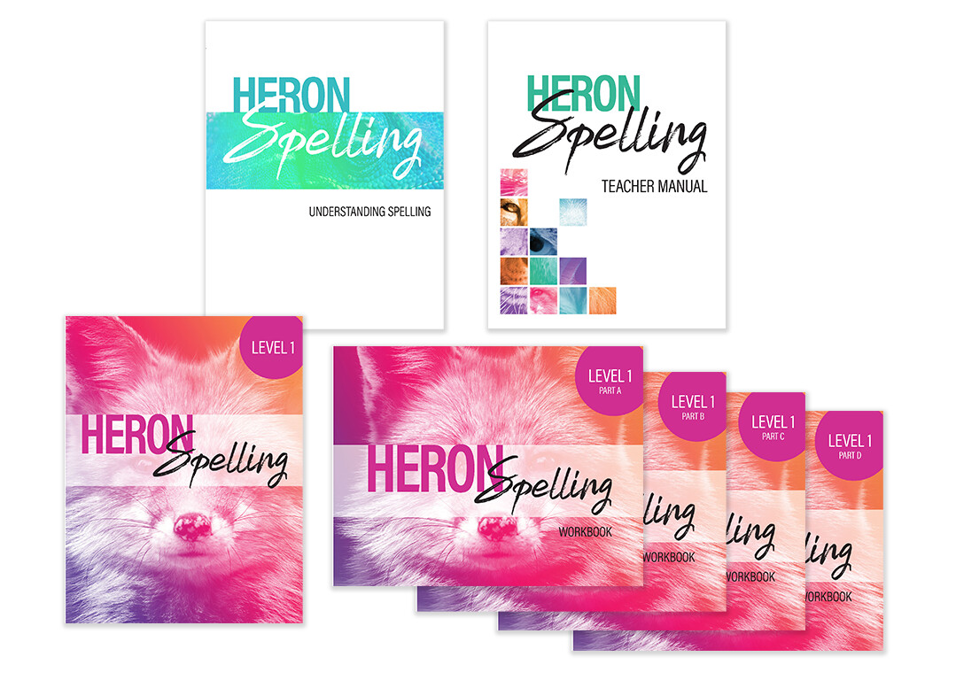 Heron Spelling Starter Package