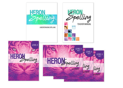 Heron Spelling Starter Package - Level 5 (Grade 8)