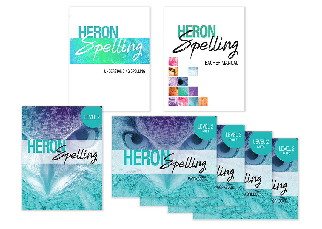 Heron Spelling Starter Package - Level 2 (Grade 5)