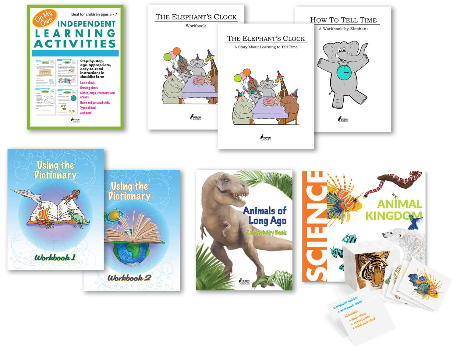 Fun Activities and Workbooks Package