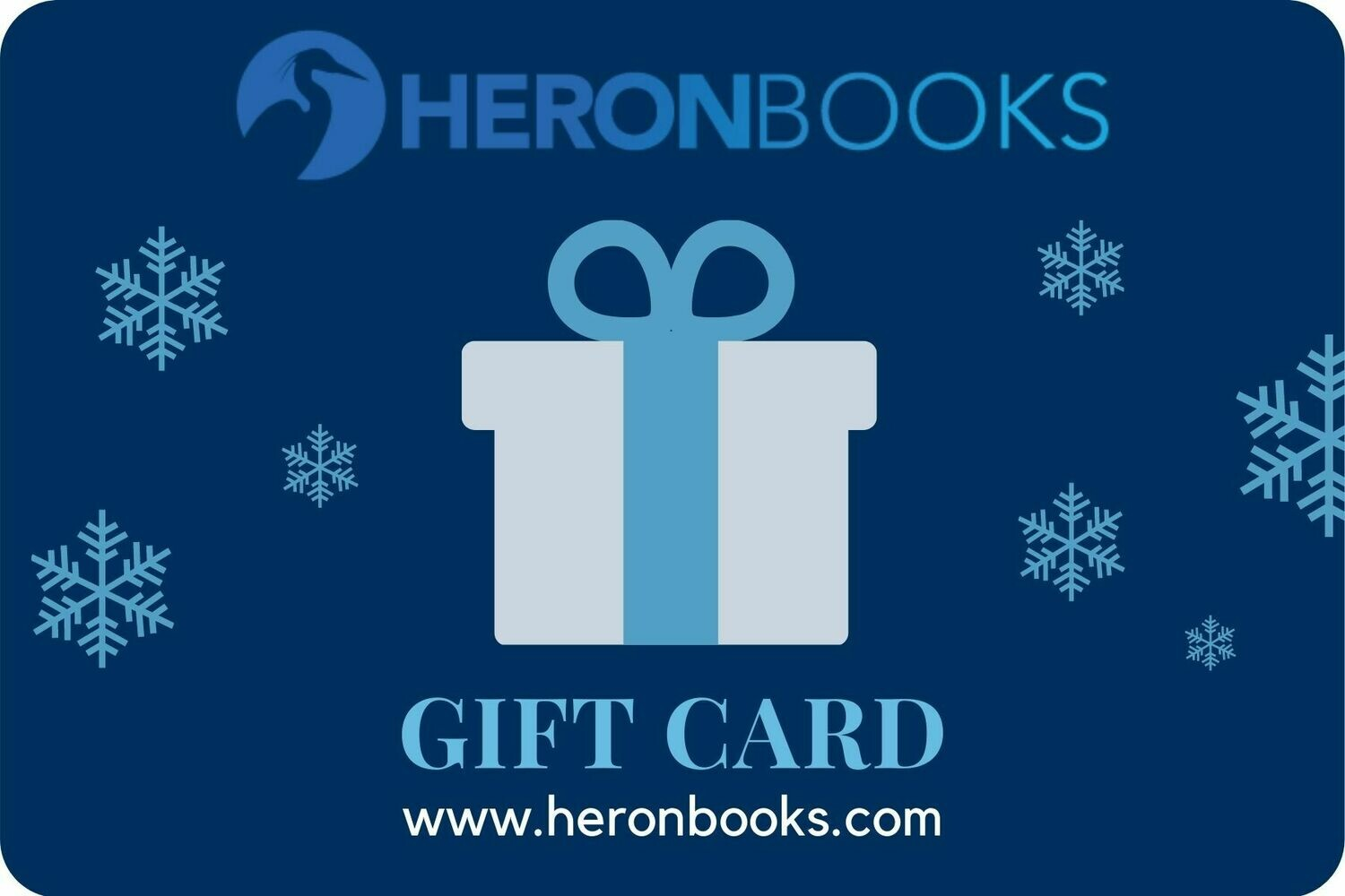 Heron Books Gift Card