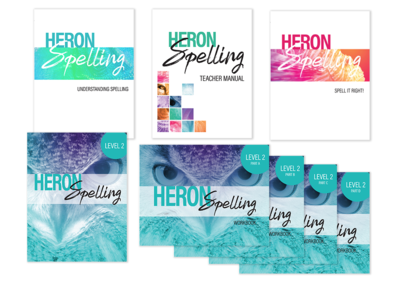 Heron Spelling Starter Package - Level 2 (Grade 5)