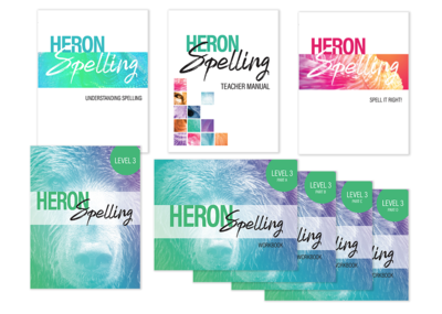 Heron Spelling Starter Package - Level 3 (Grade 6)