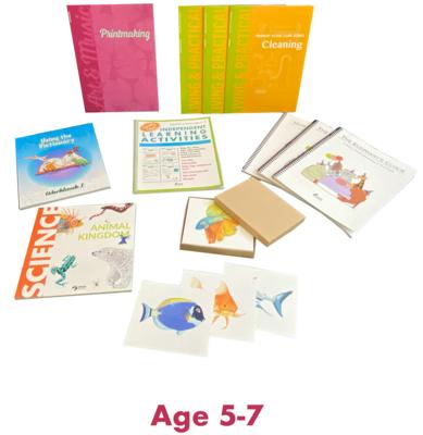 Ages 5-7 Homeschool Package
