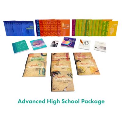 Ages 16-18 (Grades 10-12) Advanced High School Homeschool Package