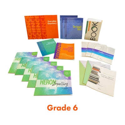 Ages 11-12 (Grade 6) Homeschool Packages