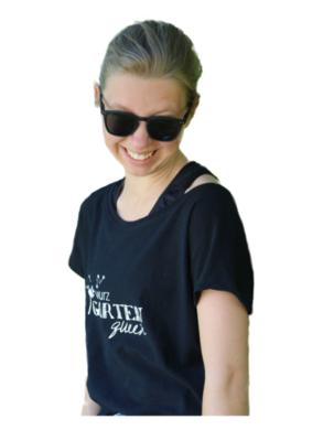 "T-Shirt ""Wurzgarten Queen"""