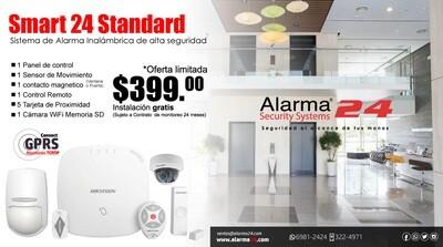 Sistema de alarma inalámbrico Smart24 Standard