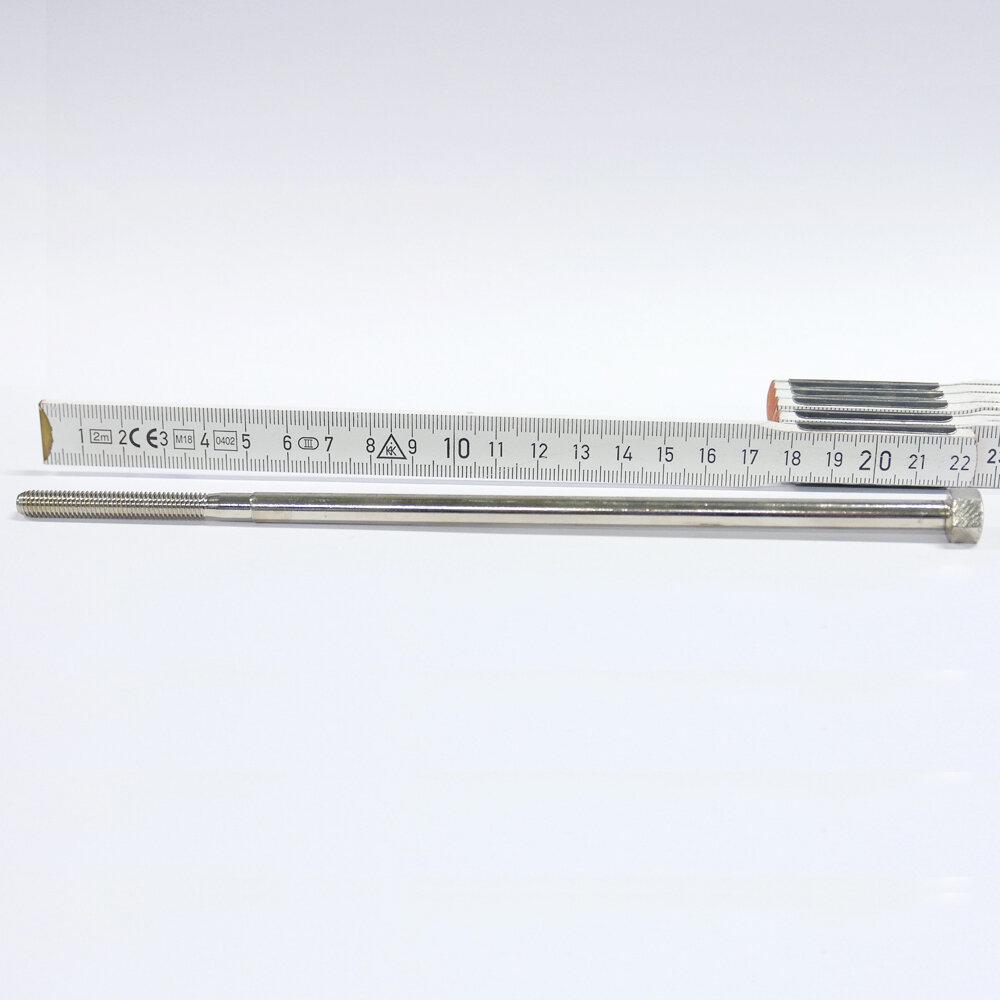 """Klemmschraube d6.5mm x 24G/"""" x 212.5/45mm Stahl vernickelt"""