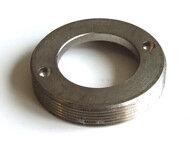 """Staubring d18.5/Gewinde d31mmx30G/"""" x6mm Stahl vernickelt"""