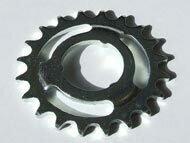Zahnkranz d35/86.5x4.3mm 20Z Stahl, aufsteckbar, mit 3 Nocken