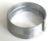 Spannhülse konisch d45/50/53x16mm Gewinde d50/51.5x1.25mm Stahl verzinkt